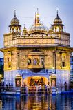 Golden Temple in Amritsar Punjab India. Very much one of the main tourist attractions and points of interest in the area Royalty Free Stock Photography