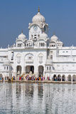 Golden Temple in Amritsar, Punjab, India. Royalty Free Stock Image