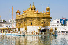 Golden Temple in Amritsar, Punjab, India. Stock Image