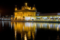 Golden Temple  in Amritsar, Punjab, India. Royalty Free Stock Photos