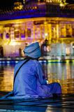 Golden Temple in Amritsar Punjab India. Very much one of the main tourist attractions and points of interest in the area Royalty Free Stock Photo