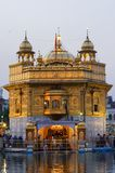 Golden Temple in Amritsar Punjab India stock image