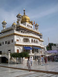 Golden temple in Amritsar - Sri Harimandir Sahib. Stock Photos