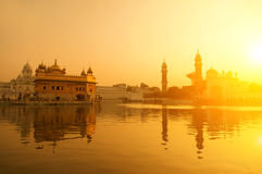 Golden Temple in Amritsar Royalty Free Stock Images