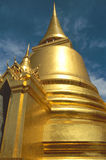 Golden Temple in Bangkok Stock Photos