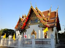 Golden Temple in Bangkok Royalty Free Stock Photography