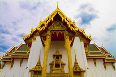 The Golden temple in Bangkok Royalty Free Stock Photos