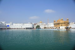 Golden temple complex Stock Images