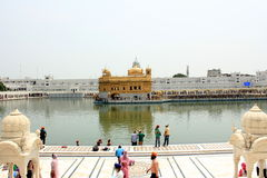 The Golden Temple Complex Stock Image