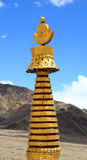 Golden temple crown Royalty Free Stock Photo