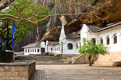 Golden Temple of Dambulla Royalty Free Stock Photography