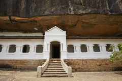 Golden Temple of Dambulla Stock Photography