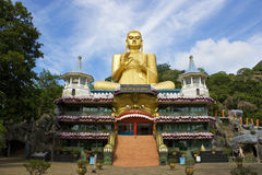 Golden Temple, Dambulla, Sri Lanka stock photography