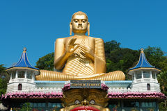 Golden Temple of Dambulla, Sri Lanka stock images