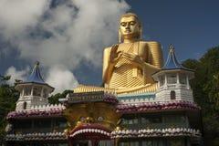 Golden Temple in Dambulla Sri lanka Stock Photo