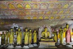 Golden Temple of Dambulla, Sri Lanka royalty free stock images