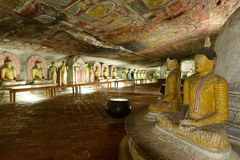 Golden Temple of Dambulla, Sri Lanka Stock Photography