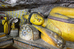 Golden Temple of Dambulla, Sri Lanka Royalty Free Stock Image