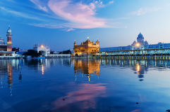 Golden Temple in the evening. Amritsar. India Stock Photo