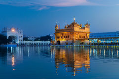 Golden Temple in the evening. Amritsar. India Stock Photography