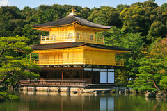 Golden Temple or golden pavillion Royalty Free Stock Photos