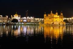 Free Golden Temple Harmandir Sahib In Amritsar At Night Stock Photos - 146719323
