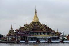 Temple on Inle lake in Burma, Asia stock photos