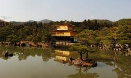 The Golden Temple of Kinkaku-ji II. The Zen Buddhist temple of Kinkaku-ji in Kyoto, Japan Stock Image