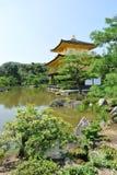 The Golden temple Kinkaku-ji in Japan in Kyoto. Stock Image