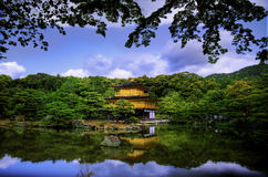 Golden Temple, Kyoto. Famous Golden Temple in Kyoto, Japan Royalty Free Stock Images