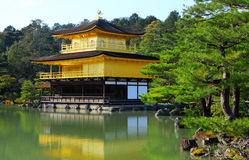 Golden Temple at Kyoto Stock Image