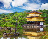 Golden temple in Kyoto Stock Image