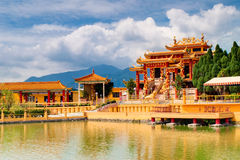 The Golden Temple by the Lake Stock Photography