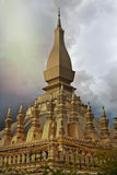 Golden temple laos. Pha That Luang Laos's most Attractive temple in vientienne, laos, south Asia Stock Photography