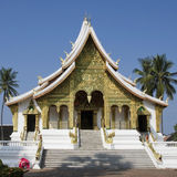 Golden temple in luang prabang in laos Stock Image