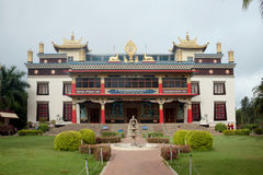 Golden Temple Coorg (Namdroling Monastery Temple) Royalty Free Stock Photos