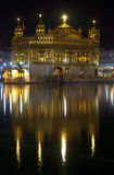 Golden Temple at night, Amritsar, India Royalty Free Stock Image