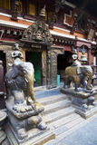 Golden Temple, Patan Durbar Square, Nepal Stock Photo
