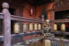 Golden Temple, Patan Durbar Square, Nepal Royalty Free Stock Photography