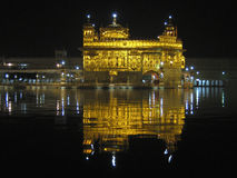 Golden Temple Reflections Royalty Free Stock Photo