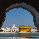 The Golden Temple, Amritsar, Punjab, India. stock photography