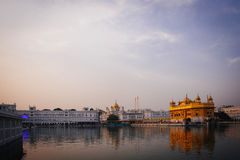 Golden Temple at sunset, Amritsar Stock Image