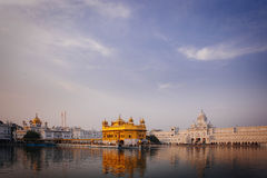 Golden Temple at sunset, Amritsar Royalty Free Stock Photography