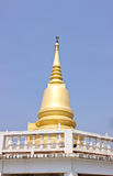 Golden temple of Thailand Stock Photo