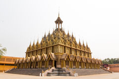 Golden Temple in Thailand Royalty Free Stock Images