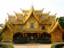 Golden temple in Thailand Royalty Free Stock Image