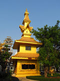Golden temple in Thailand Royalty Free Stock Photo