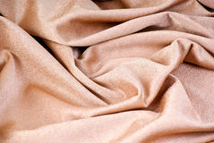 Golden textile Royalty Free Stock Photography
