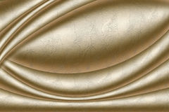 Golden texture. Golden background with golden ripples Royalty Free Stock Image
