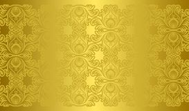 Golden texture and background Royalty Free Stock Photo